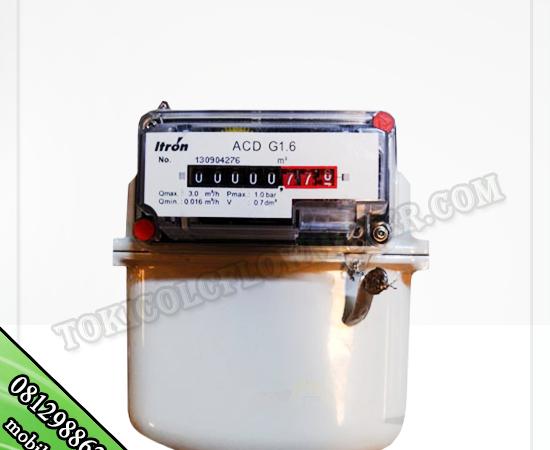 JUAL FLOW METER GAS METER MERK ITRON TYPE ACD G1,6
