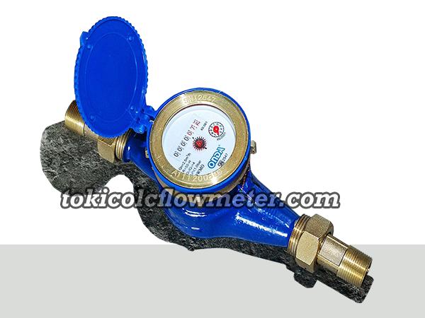 """Jual Water Meter ONDA 3/4""""DN20- Agen Flow meter Onda"""