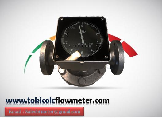 Flow meter Minyak Nitto RS AO DN50 2 Inch- oval gear flow meter