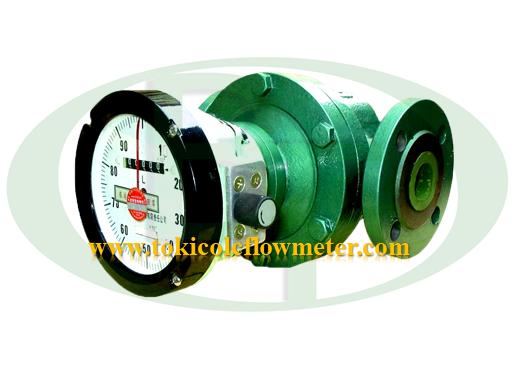 Flow meter Oval Double Case 1.5Inch   Meteran Minyak DN40