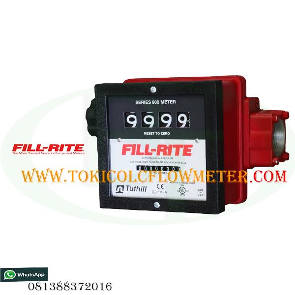 Flow meter solar 1 1/2 Inch | Jual flow meter Fill Rite Series 900C | CV Bunga Toba