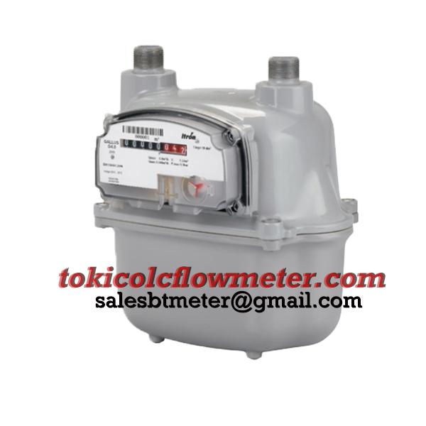 ITRON Gas Flow Meter G1.6   Jual Gas Flow Meter   CV Bunga Toba