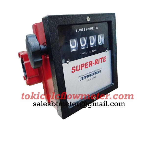 Flow Meter Super-rite 1 1/2 inch | Super-Rite 4 Digit | CV Bunga Toba