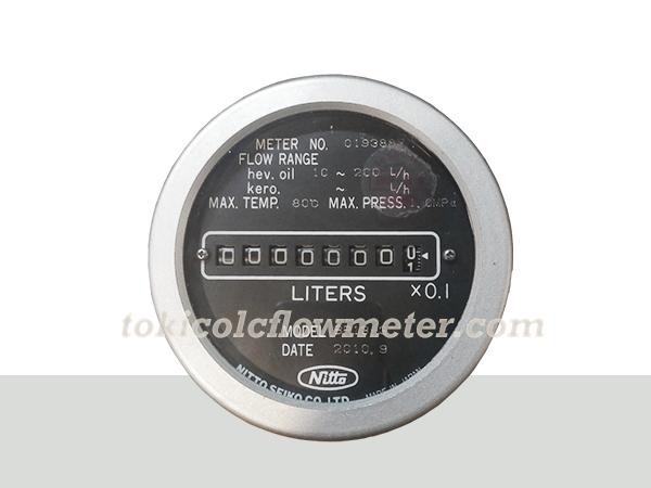 Oil Meter Nitto BR13-3 | Jual Flow Meter Nitto 1/2 Inch