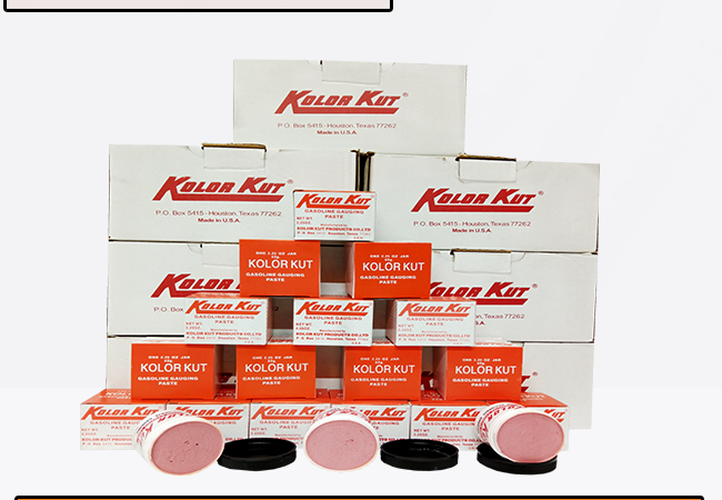 KOLOR KUT GASOLINE GAUGING PASTE | CV BUNGA TOBA
