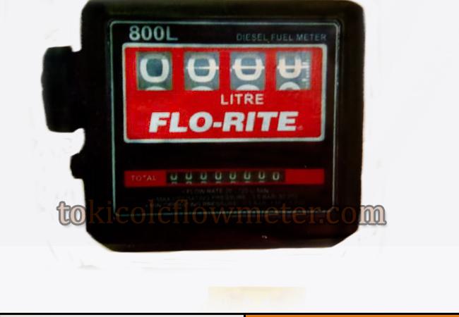 JUAL FLOW METER FLO RITE 800L SIZE 1 INCH   DI CV BUNGA TOBA