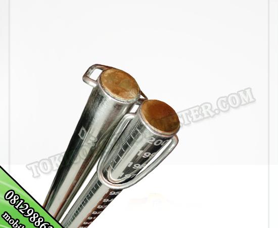 stick sonding 2 meter stainless steel | jual stick sounding 2 meter
