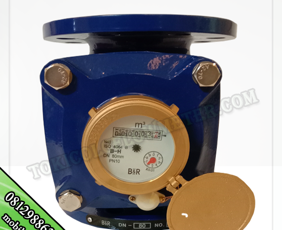 water meter BR size 2 inch DN50mm - jual meteran air dingin
