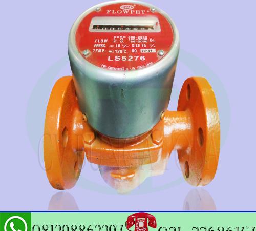 flow meter minyak solar 1 inch merk flowpet type LS 5276 analog