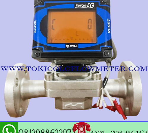 Flow meter Digital oval flowpet 5G size 3/4 Inch DN20mm